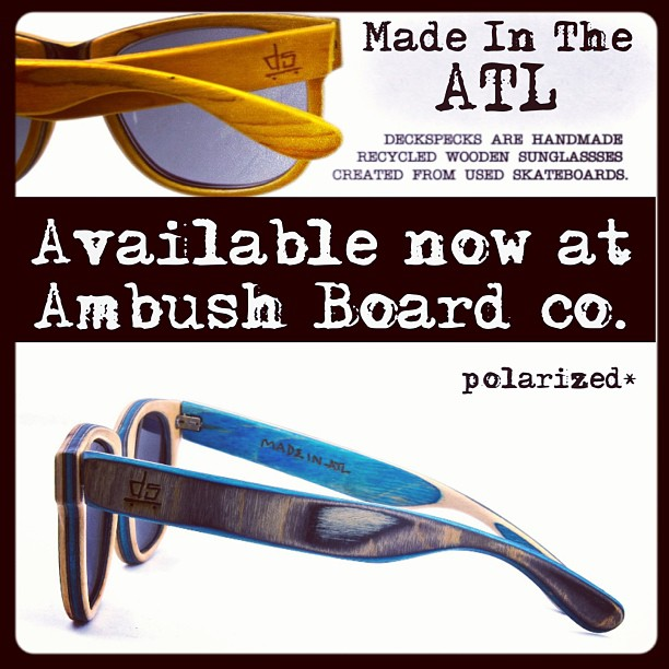 Now available at Ambush Board Co.
