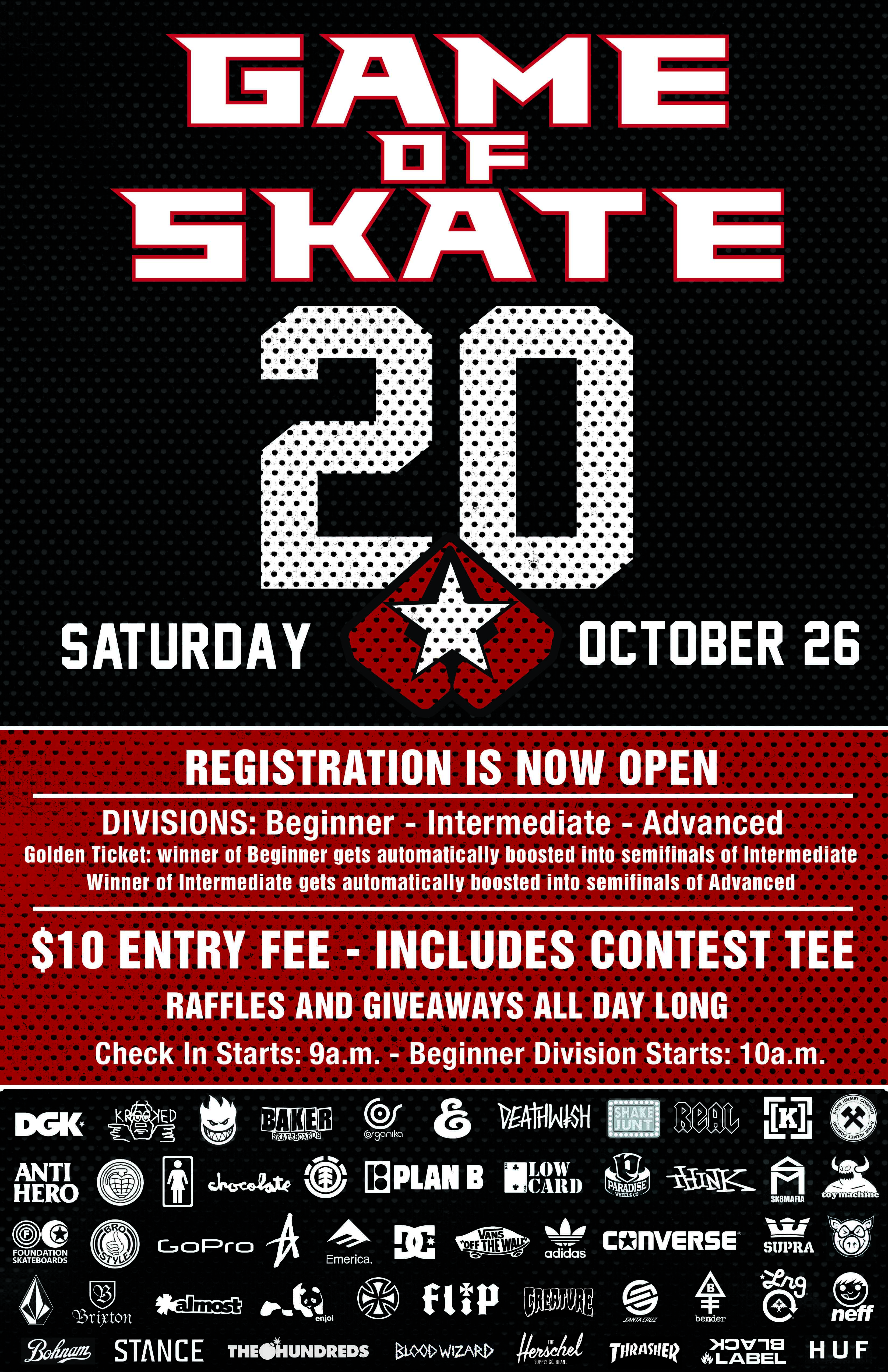 Ambush Game Of Skate 20 Flyer