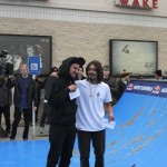 Tray Abad at the AMbush Mini Riot in Kennesaw GA Red Bull