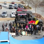 Aerial view of the action! Big thanks to RedBull for making this event happen!