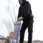 Shredders division winner Gage Johns did it all with a broken board!