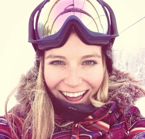 Jamie Anderson can melt you with her smile.