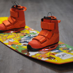 Pictured here with 2014 Shredtown Boots by Slingshot Wakeboards