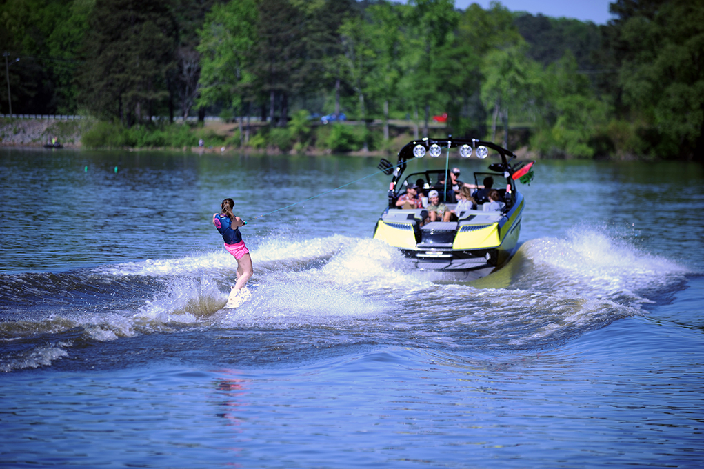 The Nautique G-23 Wake was Perfect