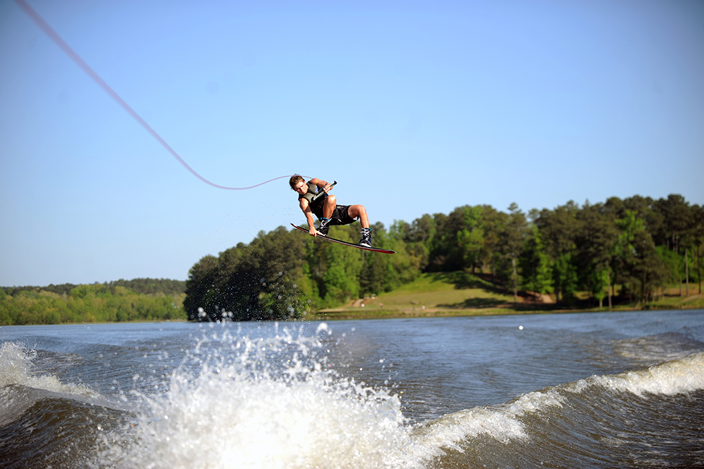 Justin Lee Grabbed 2nd Place in Open Wakeboard