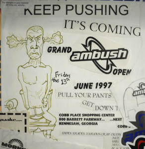 1st Ambush Flyer/Advertisement 1997