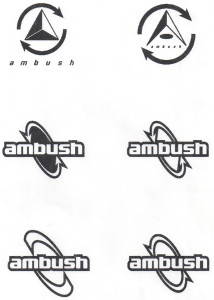 Original Ambush Board Co. Logo Ideas