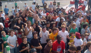 Crowd shot at the 1st Street Conest