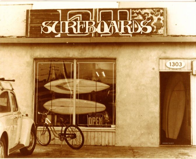 E.T. Surfboards c. 1972
