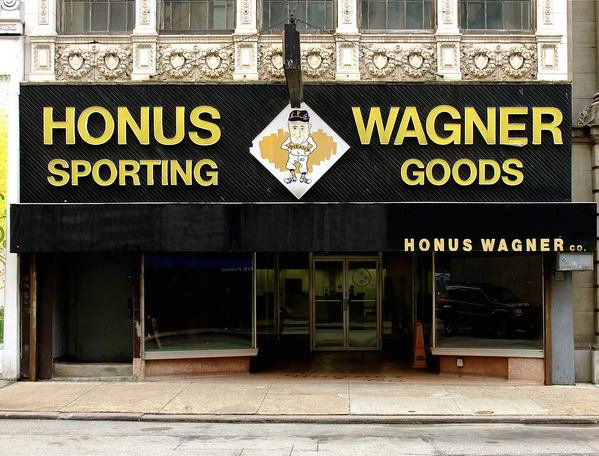 The Now Defunct Honus Wagner Sporting Goods c. 2011