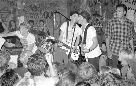 Operation Ivy at 924 Gilman. Photo: Murray Bowles