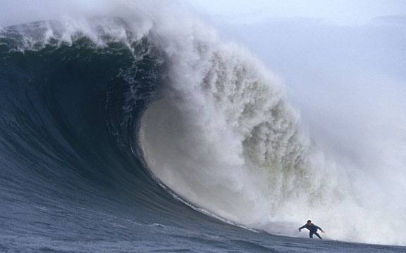 Peter Mel at Mavericks photo: Frank Quirarte