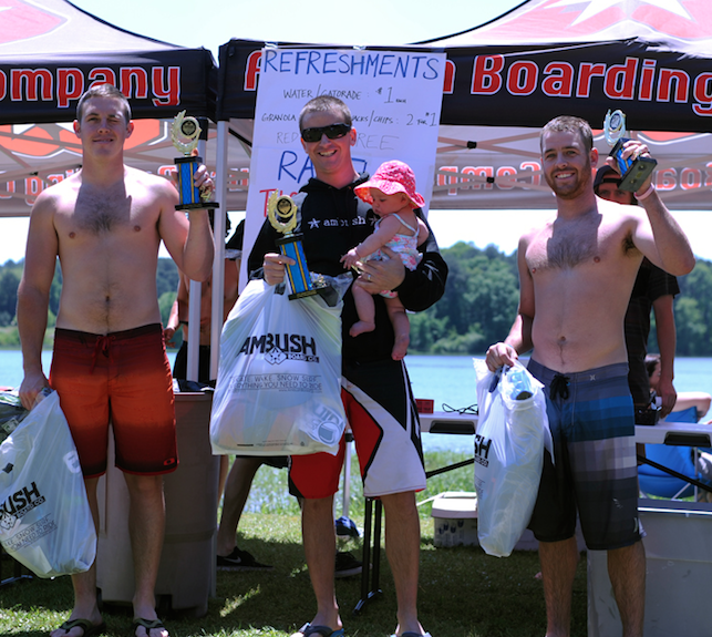 Advanced Division Podium L to R: Craig Reidy, Scott Perkins, Sadie Perkins, Garrett Reidy