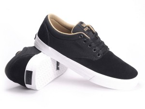 SUPRA CHINO (BLACK/KHAKI-WHITE)