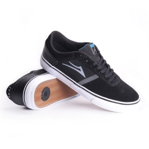 Lakai Vincent 2 in Black Suede