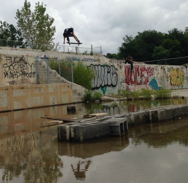 ollie at foundation