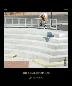 The Skateboard Mag November 2016 Issue. Photo: Atiba
