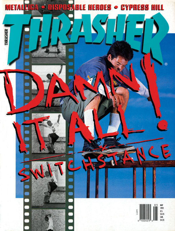 May, 1992 Thrasher Cover
