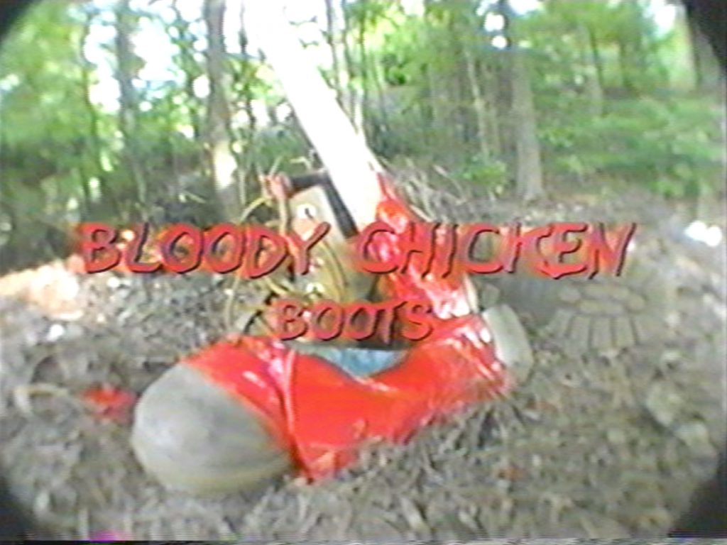 Bloody Chicken Boots Title Screen
