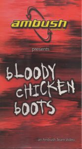Bloody Chicken Boots Front Cover