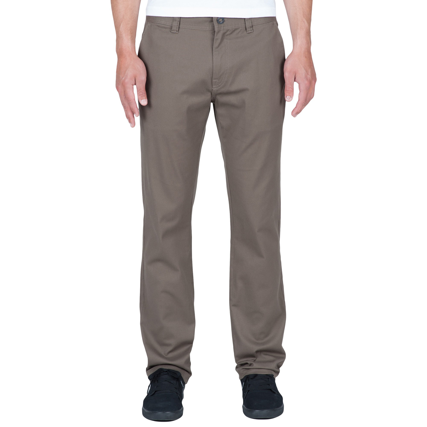 Chino Pants mushroom Frickin Volcom Modern Stretch q1WZAFY
