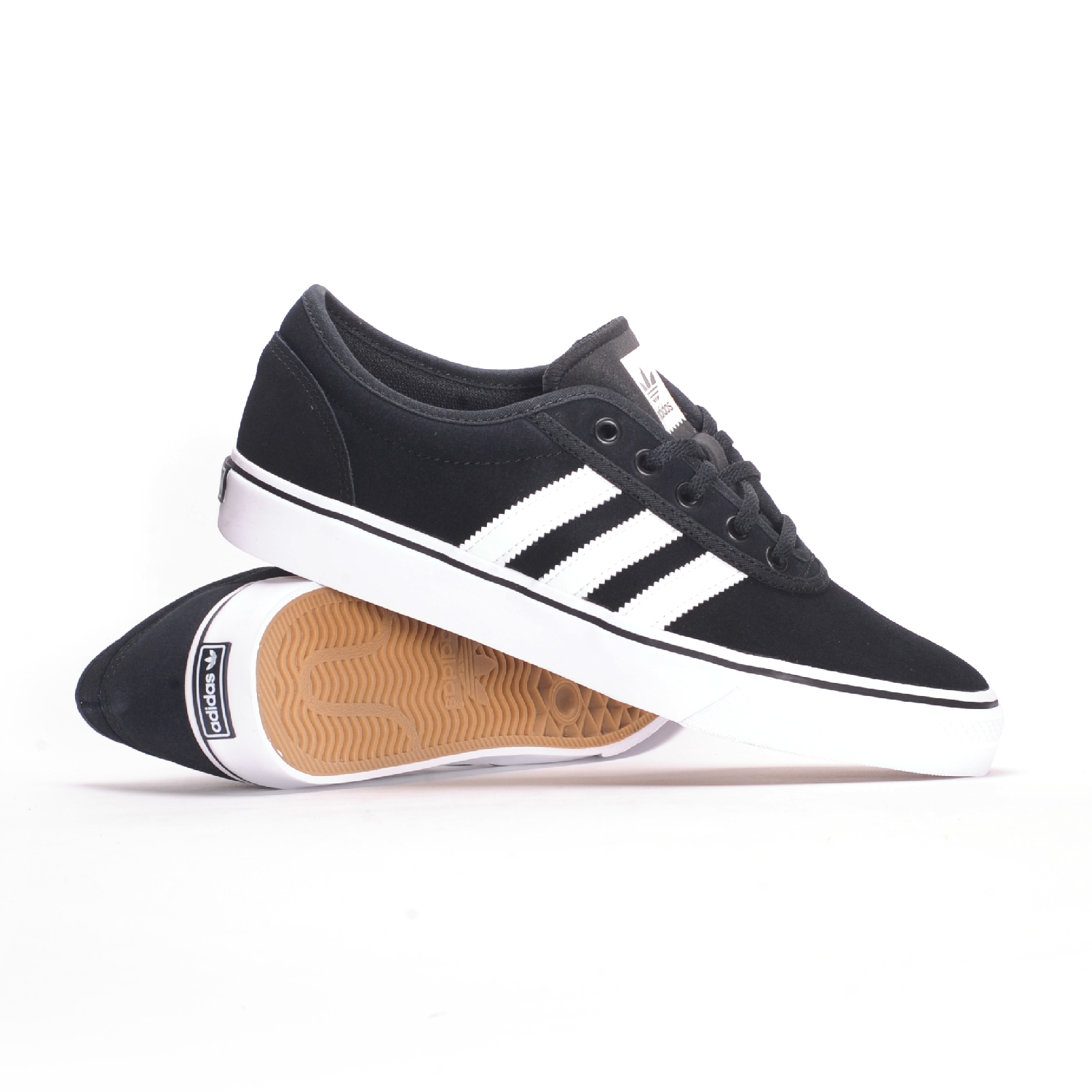 Adidas Adi-Ease (Core Black/White/Core Black) Men's Skate Shoes
