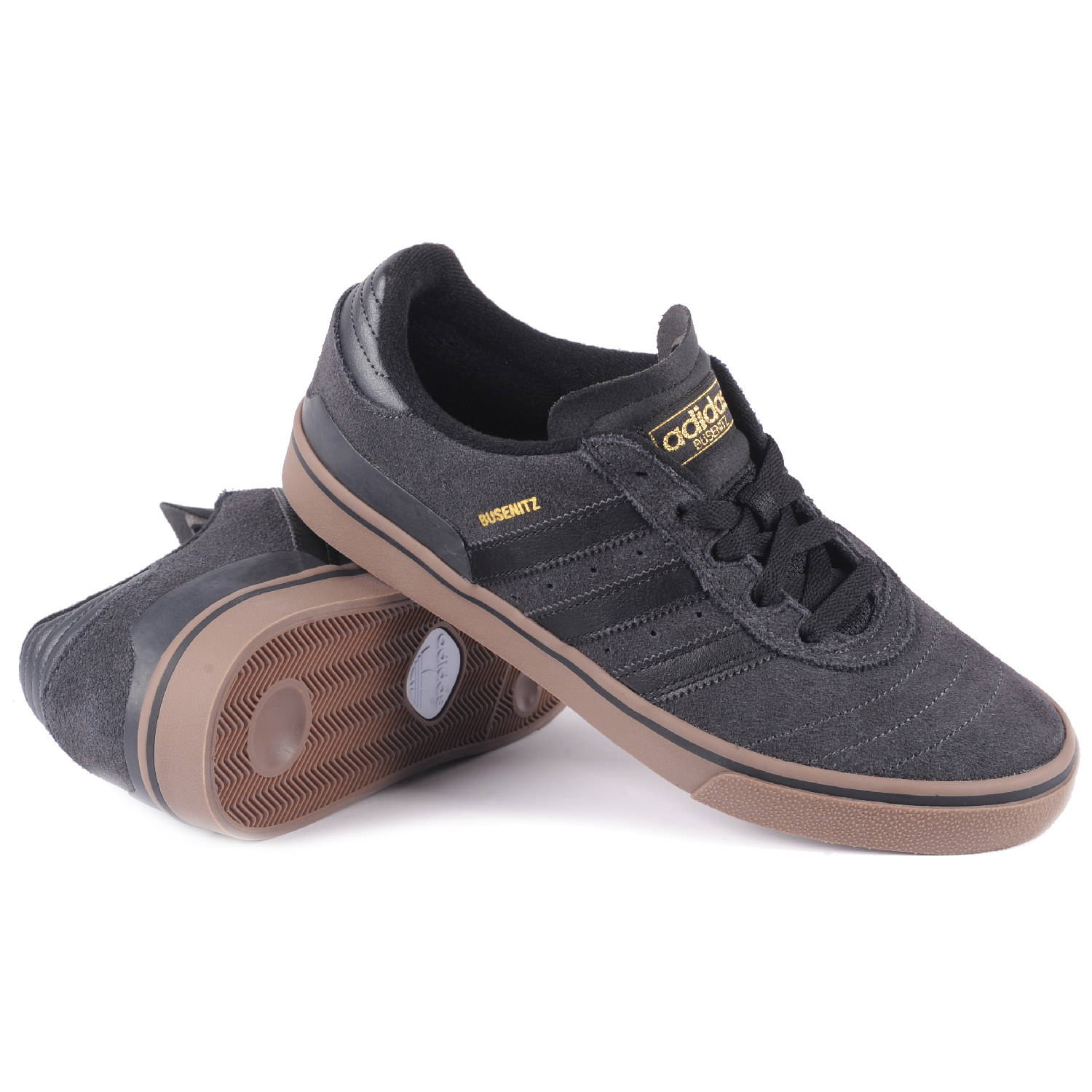 Adidas Busenitz Vulc Solid Grey Core Black Gold Metallic