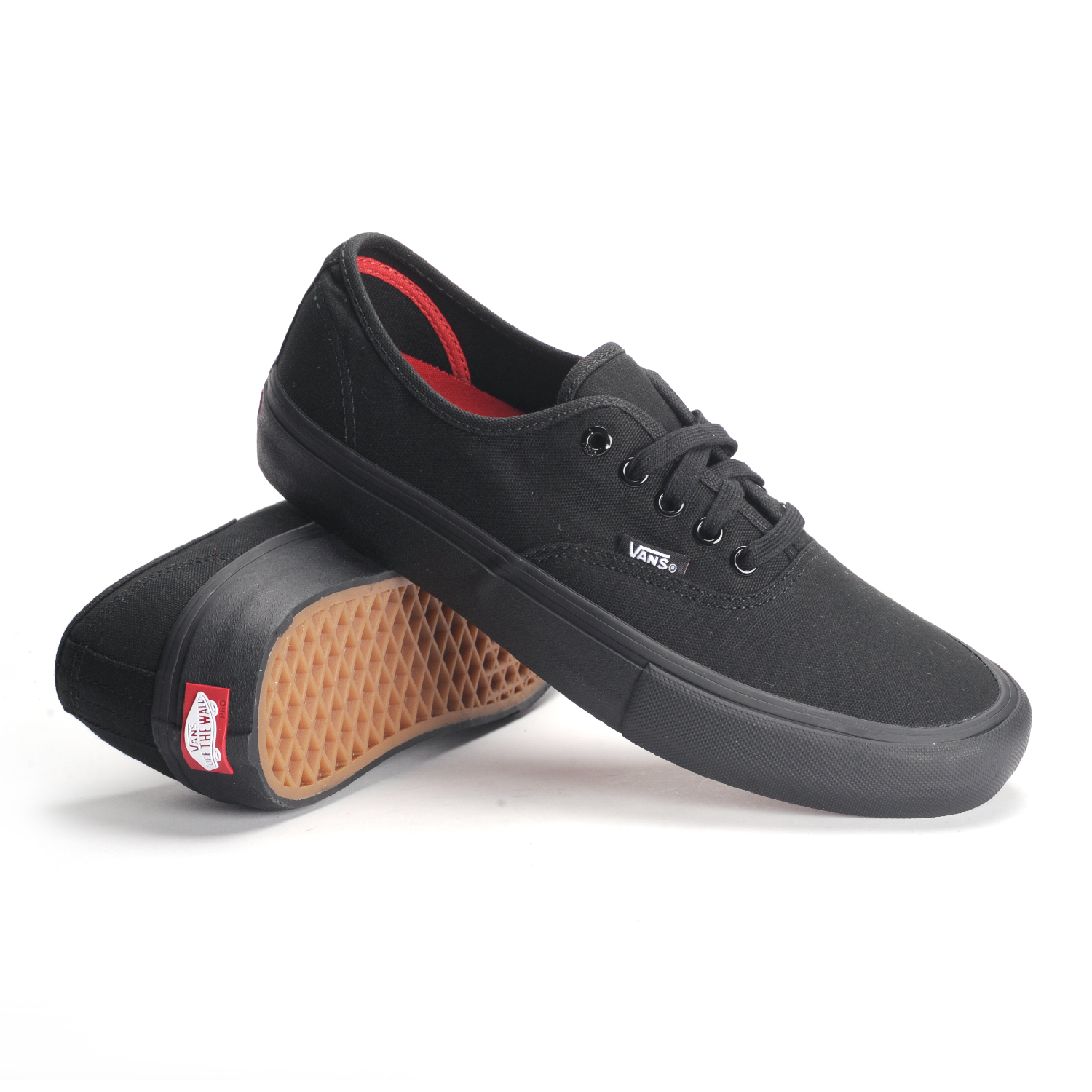 vans authentic black mens