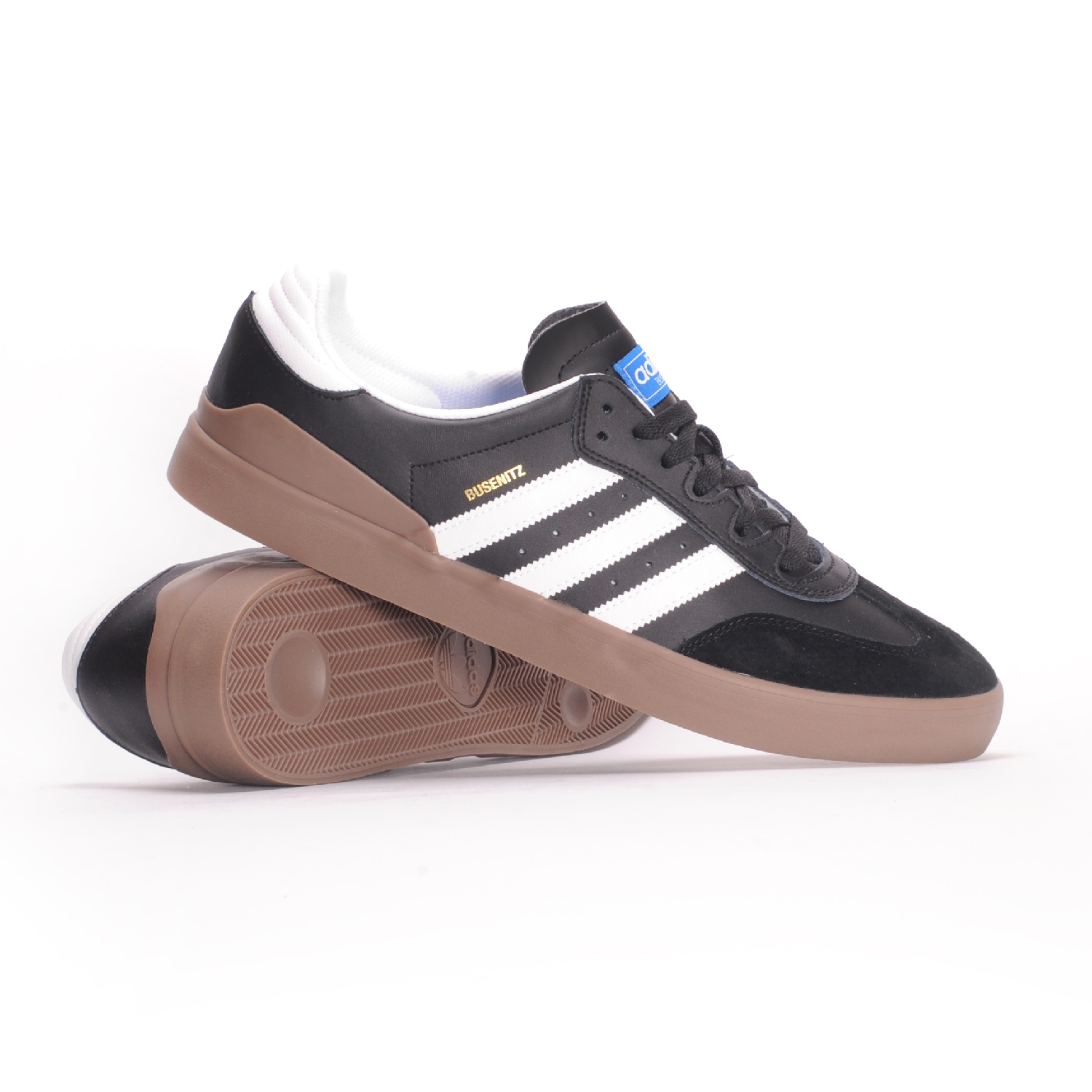 adidas Busenitz Vulc RX (Core Black White Gum 5) Men s Skate Shoes 1af9927f1
