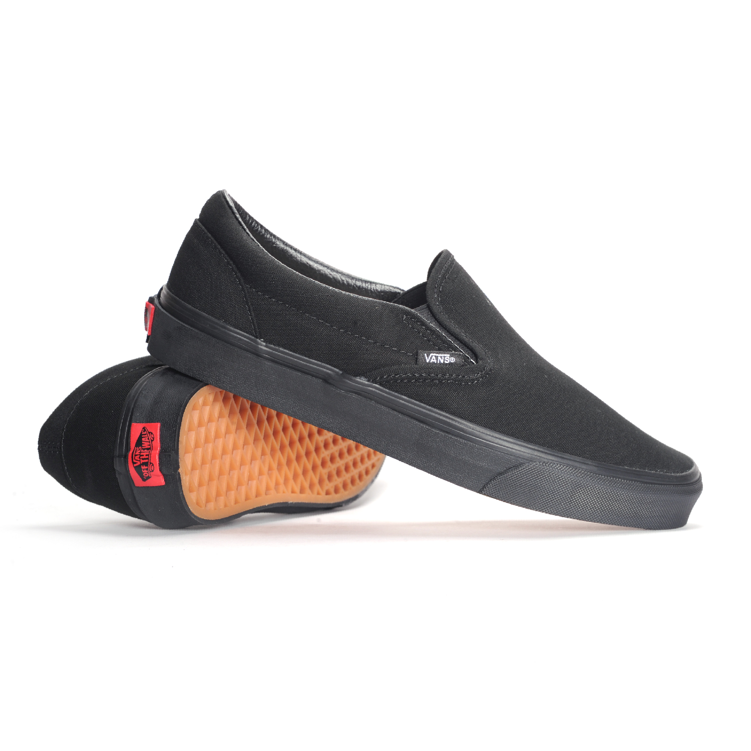 f89c04381ad UPC 700053338661. Vans Men s VANS CLASSIC SLIP-ON SKATE SHOES 10 (BLACK  BLACK)