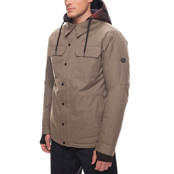 8c0162af6 686 Woodland (Khaki) Men's Insulated Snowboard Jacket