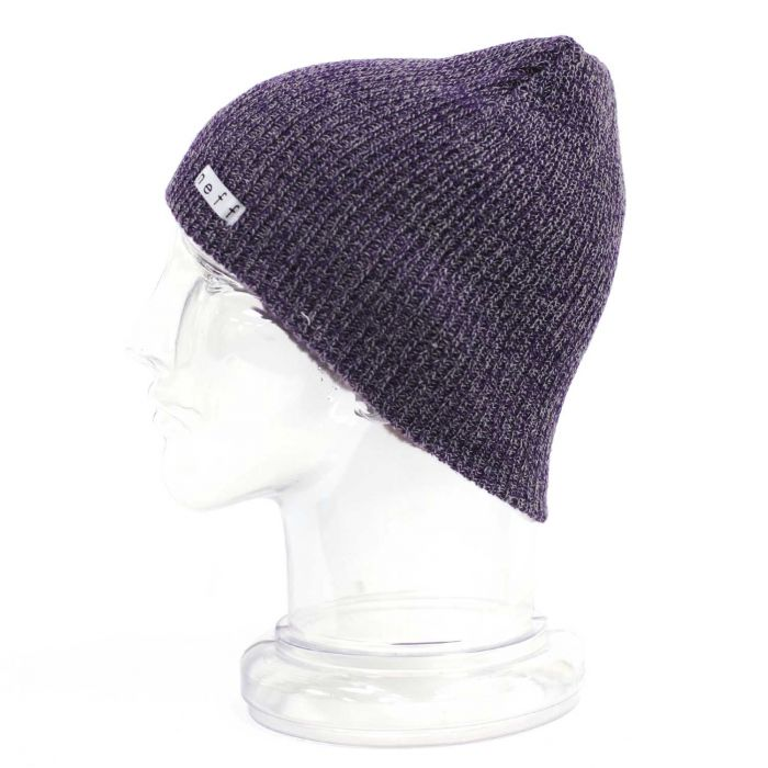 db1e781da96ae8 Neff Daily Heather (Purple/Grey) Beanie