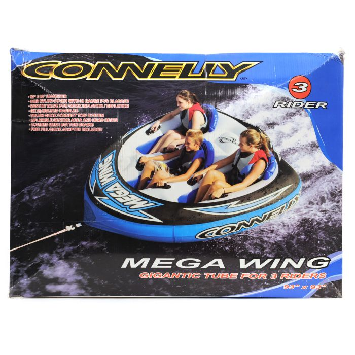 Connelly Mega Wing Three-Person Tube (Blue)
