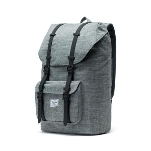 38695301b Herschel Supply Co. Little America (Raven Crosshatch/Black) Backpack