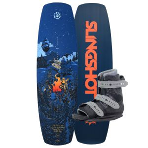 Slingshot 2019 Terrain w/ Option Wakeboard & Bindings Package