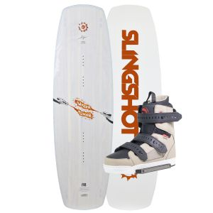 Slingshot 2019 Water Gunn 148 (Orange) w/ Shredtown Wakeboard & Bindings Package