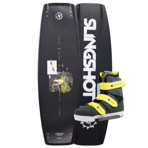 Slingshot 2019 Whip w/ KTV Wakeboard & Bindings Package