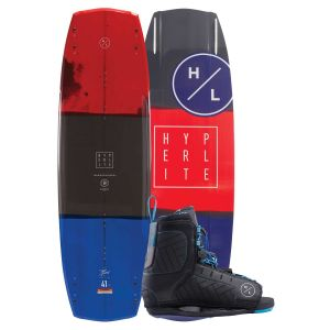 Hyperlite 2019 Baseline w/ Remix (Blue) Wakeboard & Bindings Package