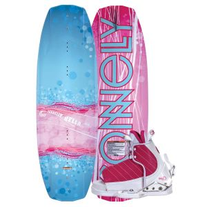 Connelly 2019 Bella w/ Lulu Kid's Wakeboard & Bindings Package