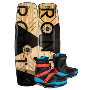 Ronix 2019 Darkside Intelligent 2 Core w/ Supreme Wakeboard & Bindings Package