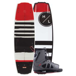 Hyperlite 2019 Franchise Jr. w/ Team OT Kid's Wakeboard & Bindings Package