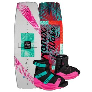Ronix 2019 Krush w/ Halo Women's Wakeboard & Bindings Package