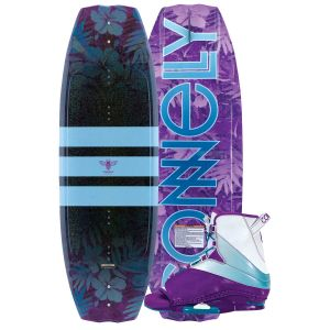 Connelly 2019 Lotus w/ Karma Women's Wakeboard & Bindings Package