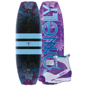Connelly 2019 Lotus w/ Optima Women's Wakeboard & Bindings Package