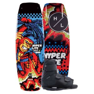Hyperlite 2019 Murray Jr. w/ Formula Kid's Wakeboard & Bindings Package