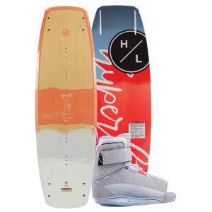 Hyperlite 2019 Prizm w/ Viva Women's Wakeboard & Bindings Package
