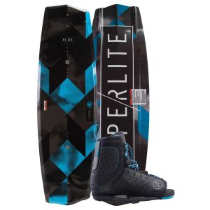 Hyperlite 2019 State Jr. w/ Remix (Blue) Kid's Wakeboard & Bindings Package