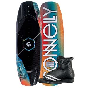 Connelly 2019 Surge w/ Optima Kid's Wakeboard & Bindings Package