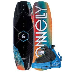Connelly 2019 Surge w/ Tyke Kid's Wakeboard & Bindings Package
