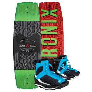 Ronix 2019 Vault Kids w/ District Kid's Wakeboard & Bindings Package